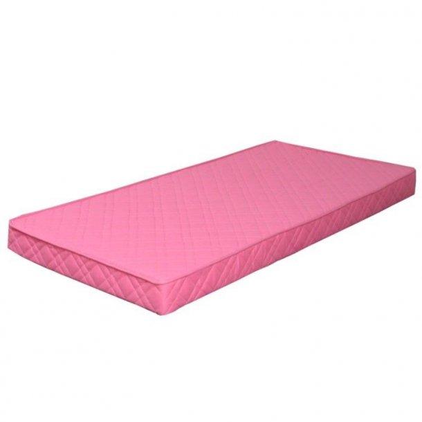 Springfjærmadrass 90x200 cm pink.