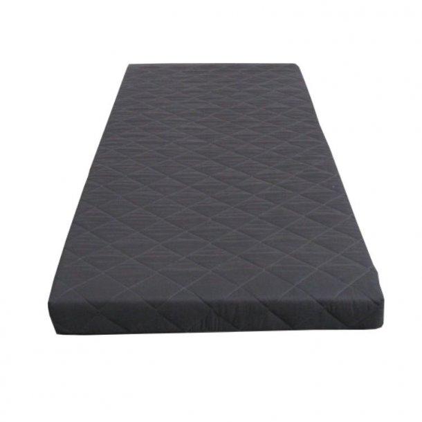 Skummadras 90x200 cm grå.