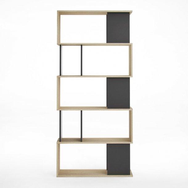 Magda reol 7 rum eg struktur og sort.