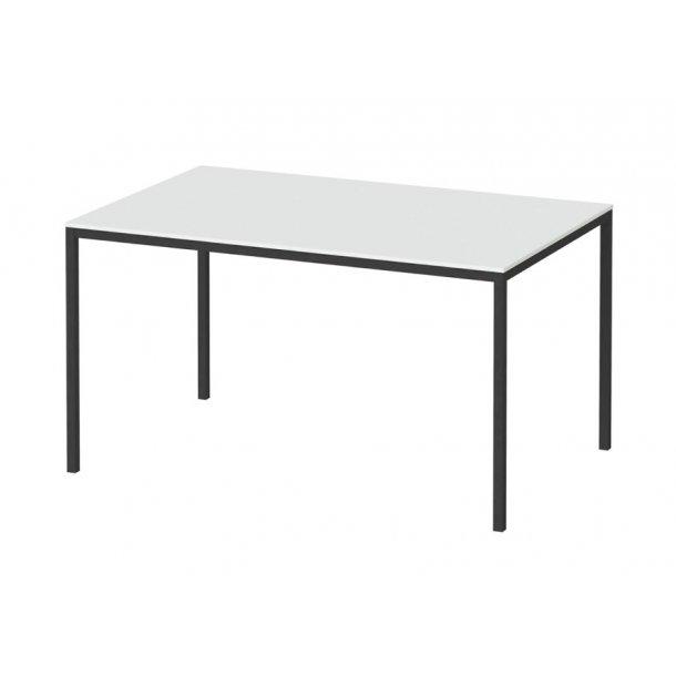 Fall spisebord 90 x 140 cm hvid og sort.