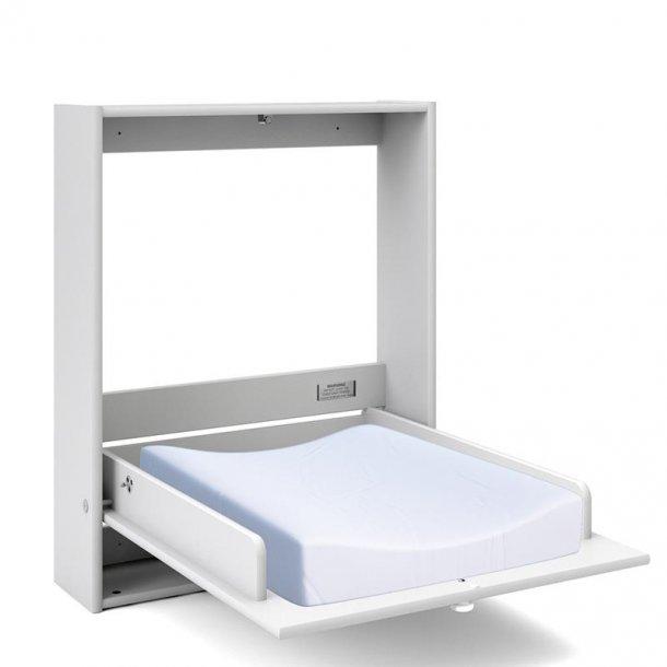 Dream puslekommode til ophæng i hvid.