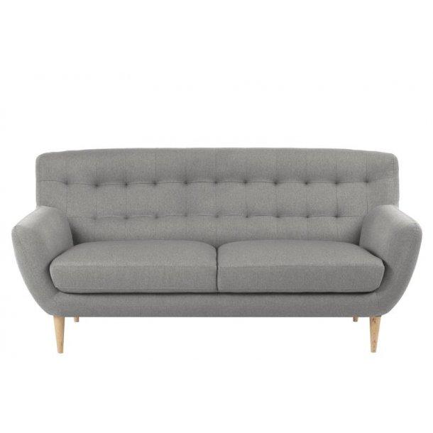 Osmund sofa 3 personers grå.