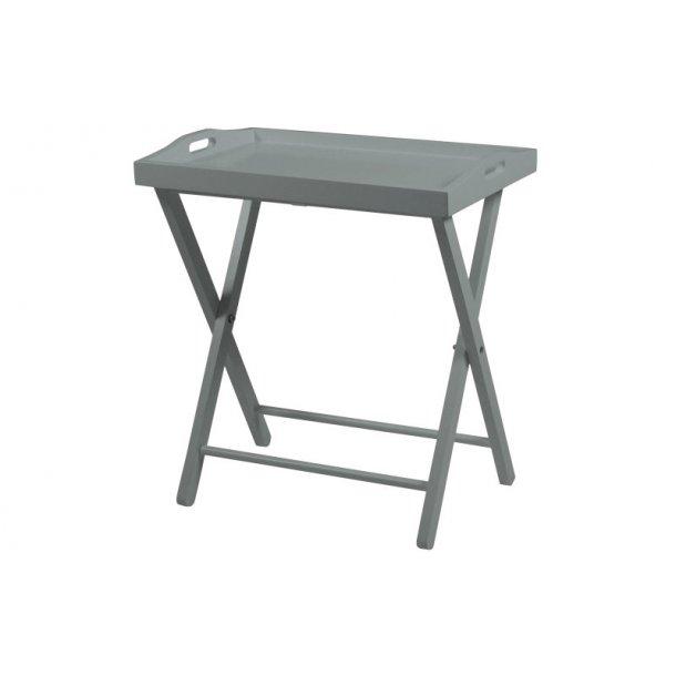 Vasa bakkebord i grå.