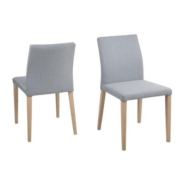 Zill spisestuestol i grå og blå.