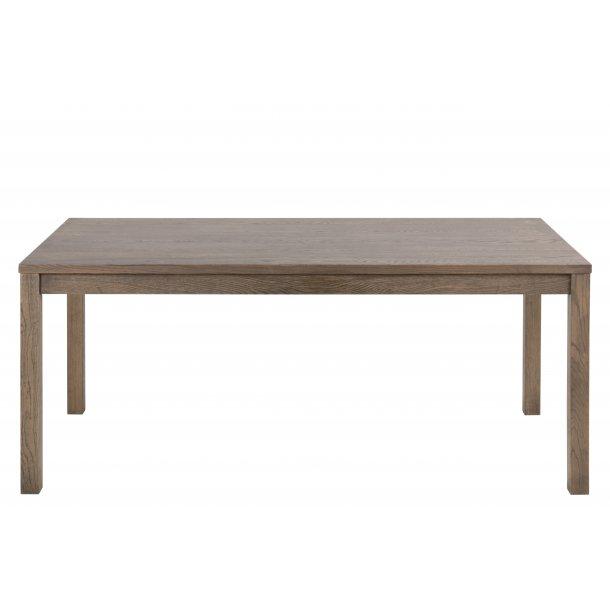 Bruce spisebord 90x180 cm forberedt til tillægsplader eg.