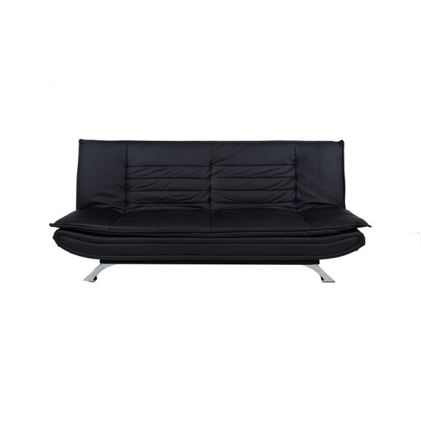 fanny schlafsofa in kunstleder schwarz bestellen sie hier. Black Bedroom Furniture Sets. Home Design Ideas