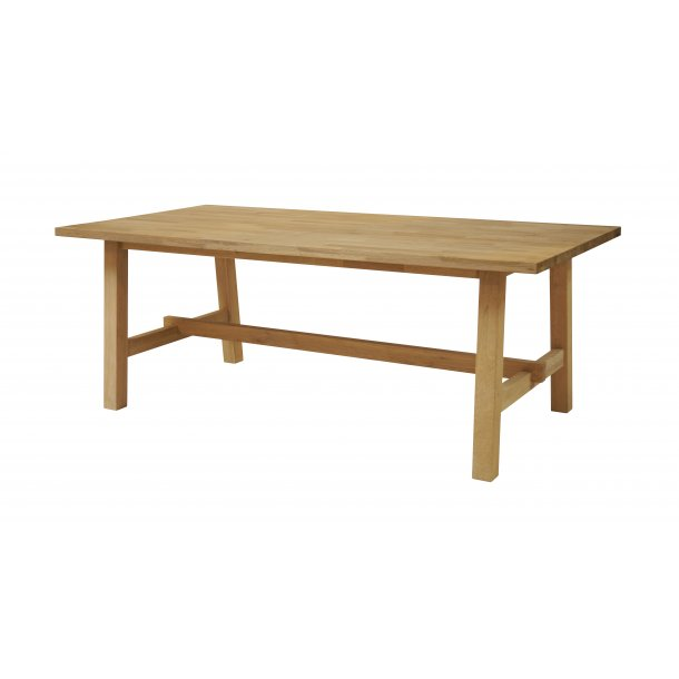 Count spisebord 80x160 cm i massiv eg.