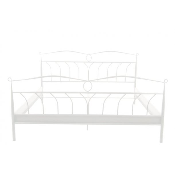 linax metallbett 140x200 cm in wei f r box matratzen. Black Bedroom Furniture Sets. Home Design Ideas