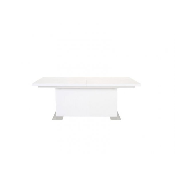 Spisebord i hvit høyglans | Pene spisebord hvit høyglans