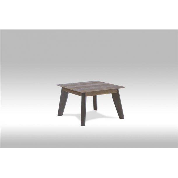 Marla hjørnebord i brun / grå akacie træ.