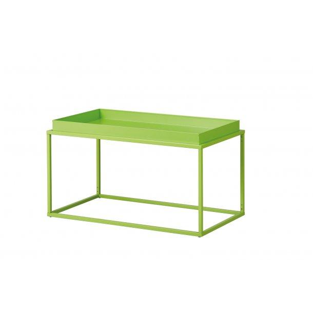 Cross sofabord L hjørnebord grøn.