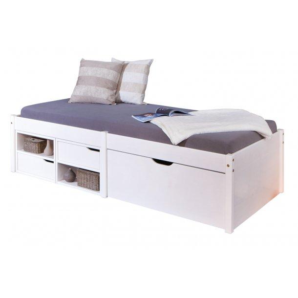 Farvo seng 90x200 cm hvid.
