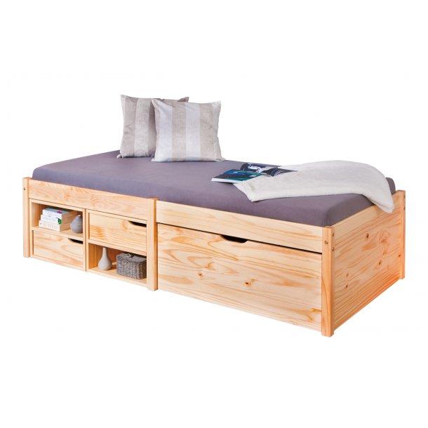 Farvo seng 90x200 cm natur.