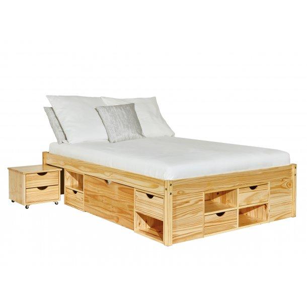 Cluse seng 160x200 cm natur.