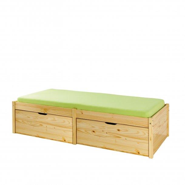 Laudrun seng 90x200 cm natur.