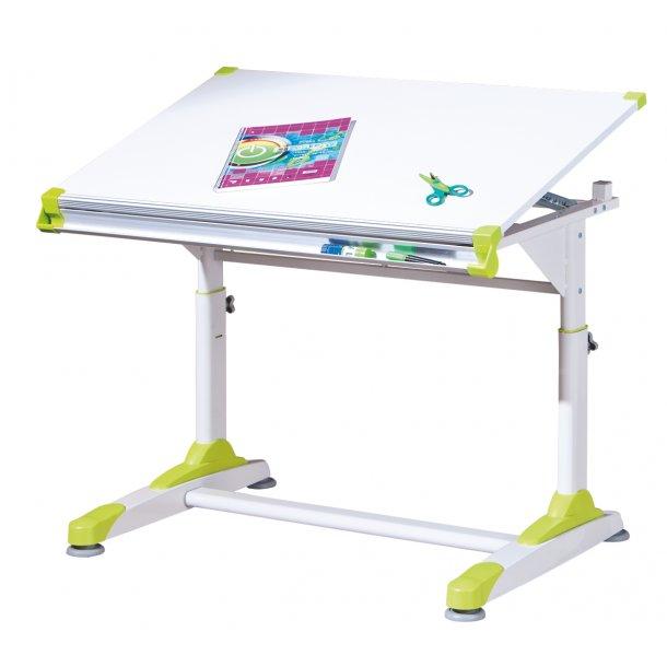 Color skrivebord hvid.