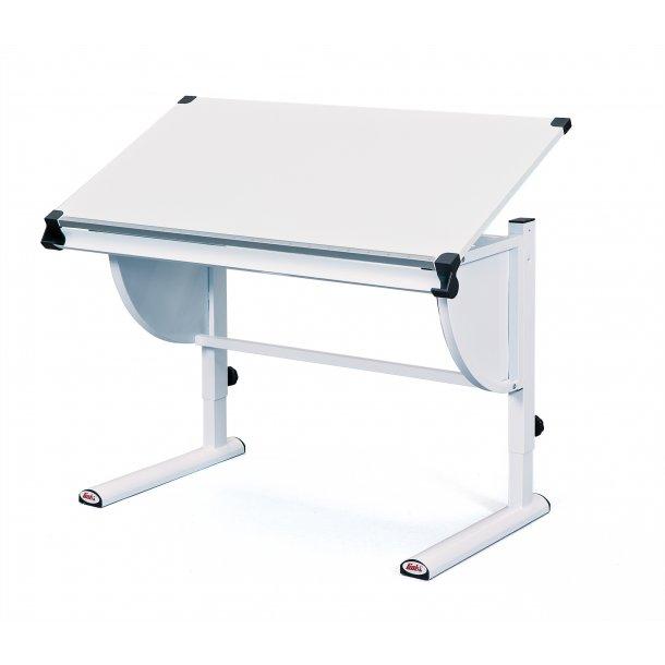 Cert skrivebord hvid.