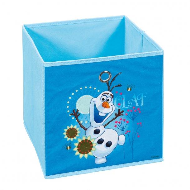 Disni opbevaringskasser blå, hvid.