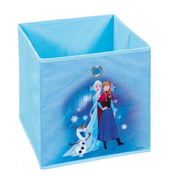 Disni opbevaringskasser blå.