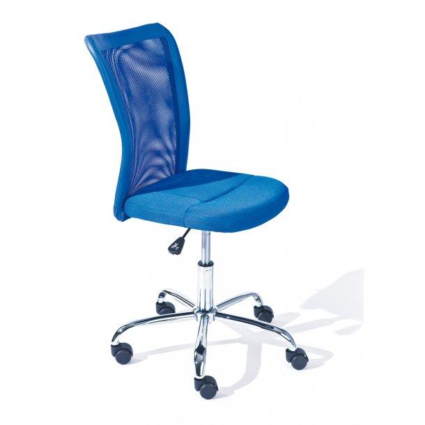 Bonan børne kontorstol blå.
