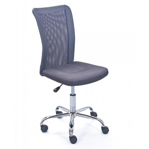 Bonan børne kontorstol grå.
