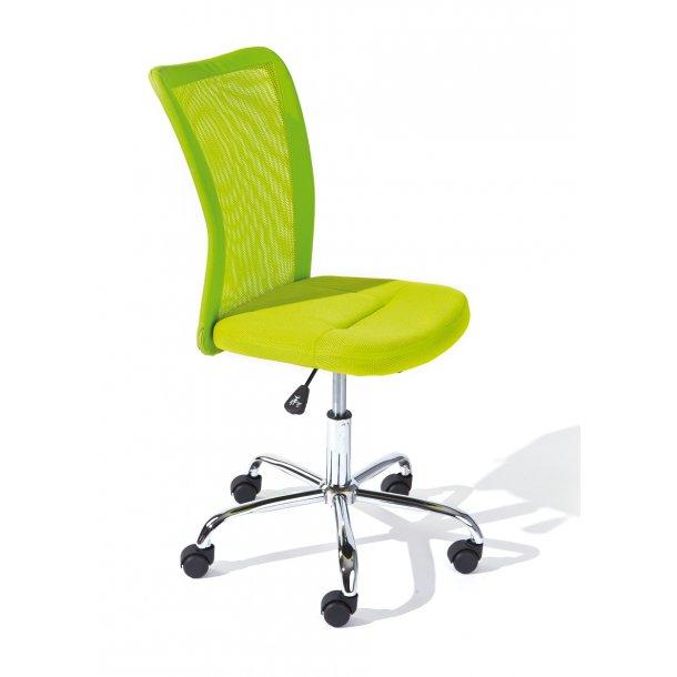 Bonan børne kontorstol grøn.