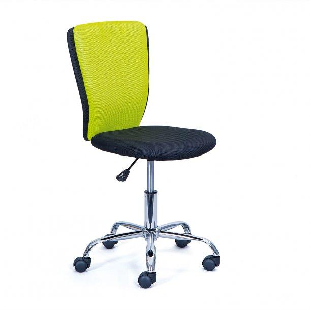 Cece kontorstol grøn, sort.