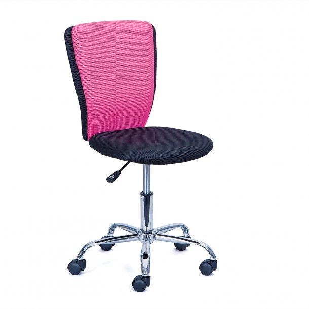 Cece kontorstol pink, sort.