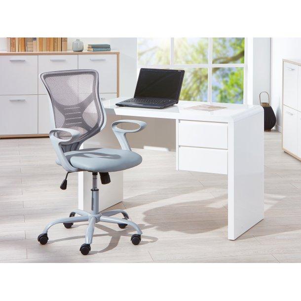 Afira kontorstol grå.