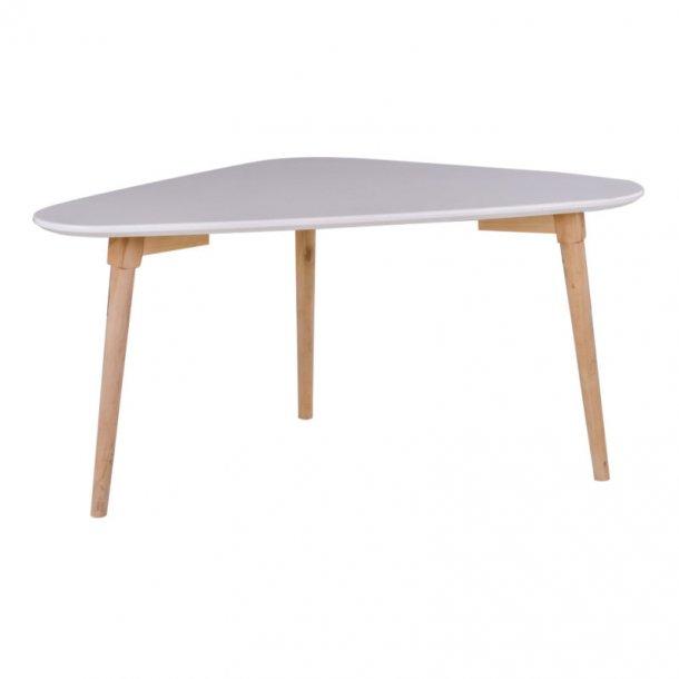 Mif sofabord 48 x 85 x 40 cm i hvid og natur.