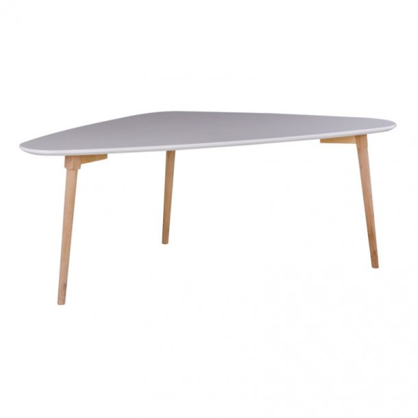 Mif sofabord 60 x 118 x 45 cm i hvid og natur.