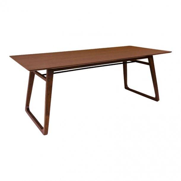 Hello spisebord 90 x 200 cm i valnød dekor.