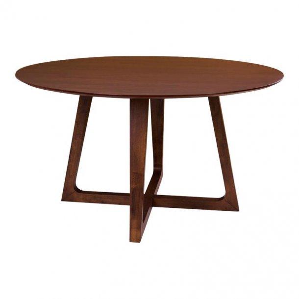 Hello spisebord Ø137 cm i valnød dekor.