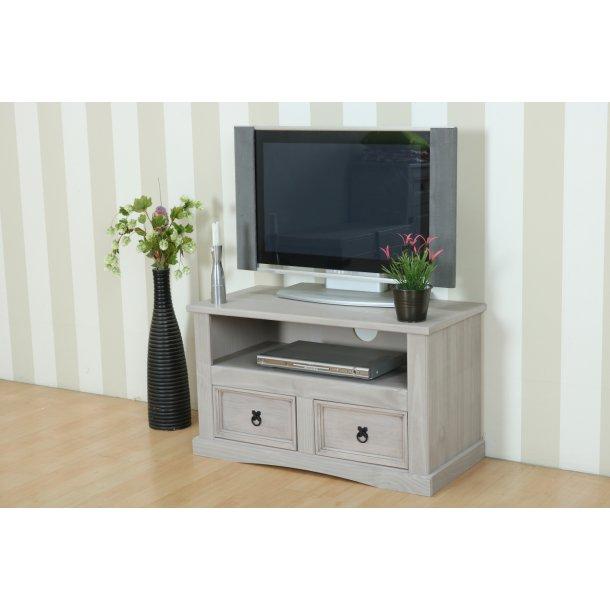 New Mexico TV/Hifi-møbel bredde 91 cm, højde 53 cm grå.