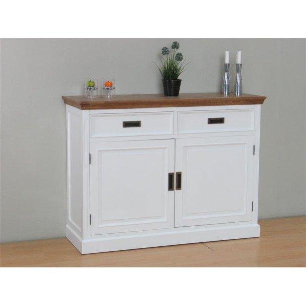 marie kommode mit 2 schubladen und 2 t ren in weiss und gebeizt bestellen sie hier. Black Bedroom Furniture Sets. Home Design Ideas