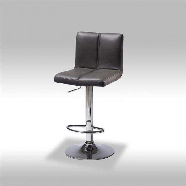 Calo barstol i sort PU kunstlæder.