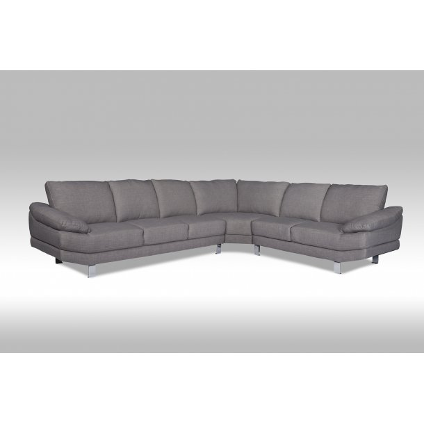 swan ecksofa nr 32 in grauen stoff bestellen sie hier. Black Bedroom Furniture Sets. Home Design Ideas
