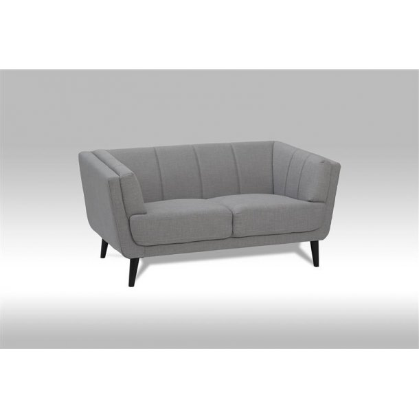 Veris sofa 2-personers i grå stof.