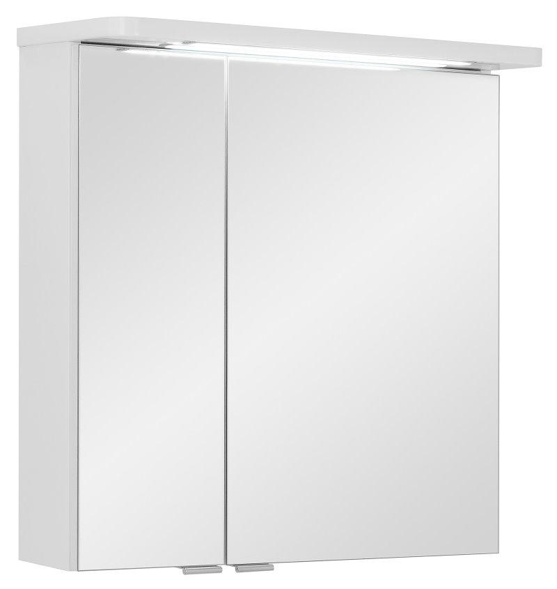 spiegelschrank grete 60 cm badezimmerspiegel in hochglanz weiss kaufen sie hier. Black Bedroom Furniture Sets. Home Design Ideas