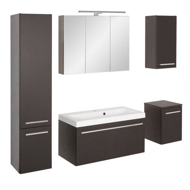 badezimmer athena waschbecken und spiegelschrank sind 80 cm breit kaufen sie hier. Black Bedroom Furniture Sets. Home Design Ideas
