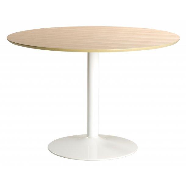 Ibby spisebord Ø110 cm i ege finer.