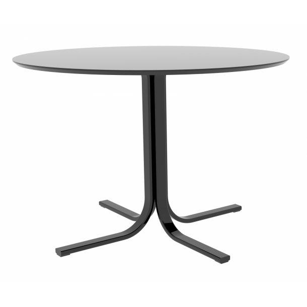Janey spisebord Ø110 cm sort.