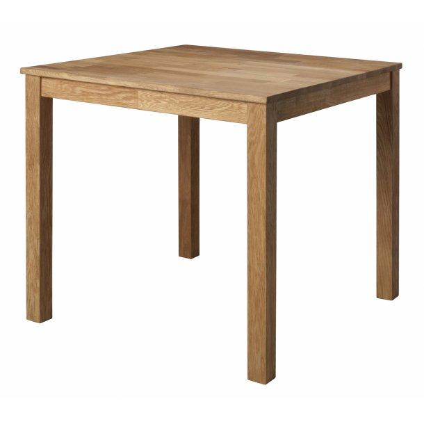 Speedy spisebord 80 x 80 cm eg oliebehandlet.