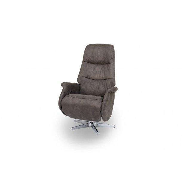 Dode recliner lænestol i brun.