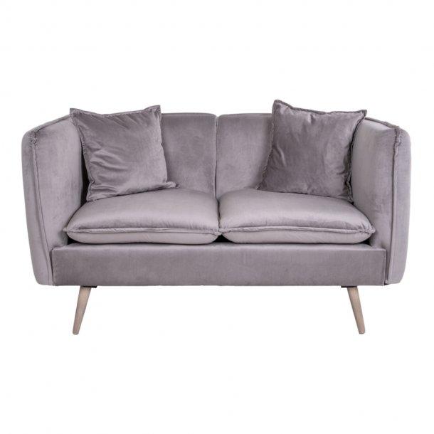 Anita sofa 2 personers grå, natur.