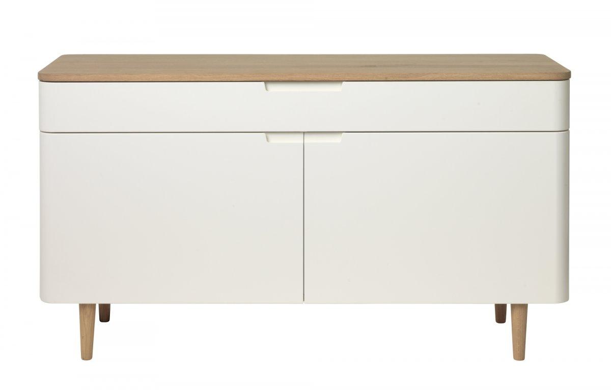 Tv benk Amaretta antikk hvitt. Levering på døren i hele Norge