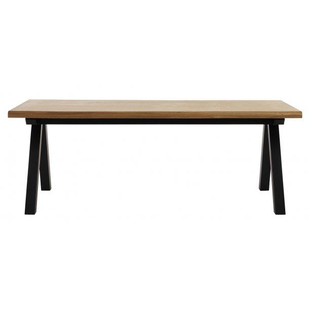 Ollie spisebord 100x210 cm i fineret amerikansk vild eg og massiv birk.