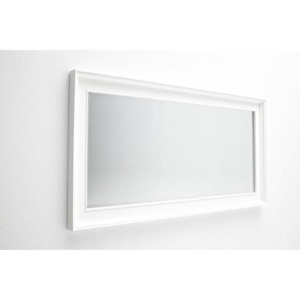Halifax spejl som gulvspejl hvid.