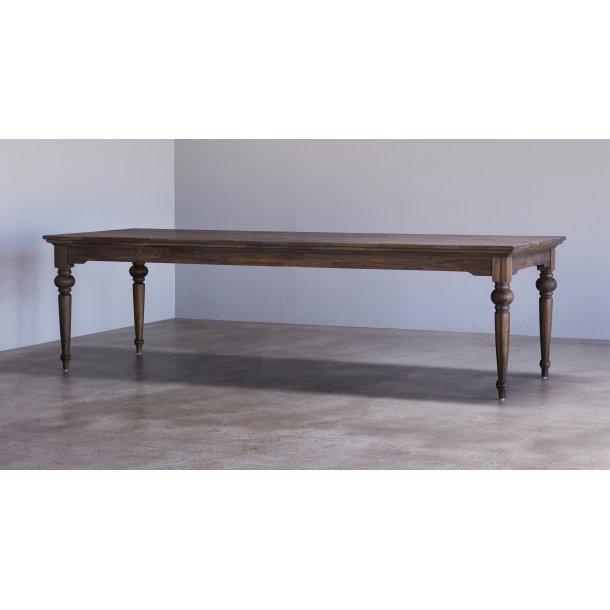 Hygge spisebord 100x260 cm mørk natur.