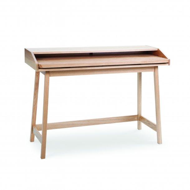 Steem Schreibtisch Mit Ausziehbarer Tischplatte Eiche Bestellen